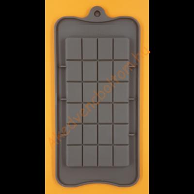 Szilikon csoki öntő forma táblás 1 darabos