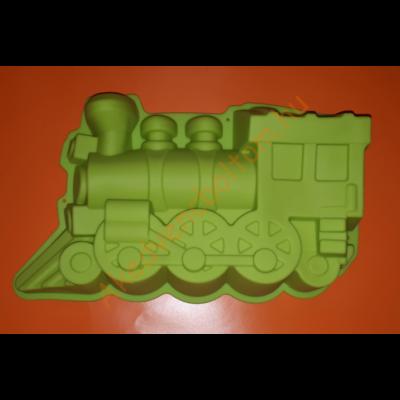 Vonat nagy szilikon sütőforma