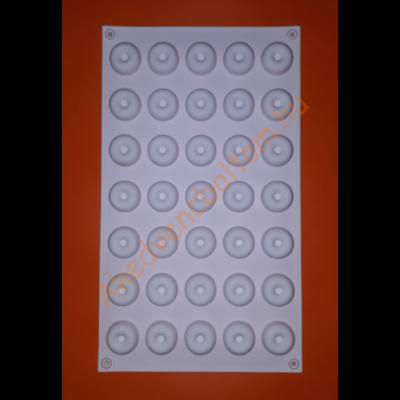 Micro savarin 35 darabos szilikon mousse sütőforma