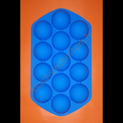 Félgömb közepes 13 darabos szilikon sütőforma