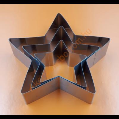 Tortaforma csillag közepes